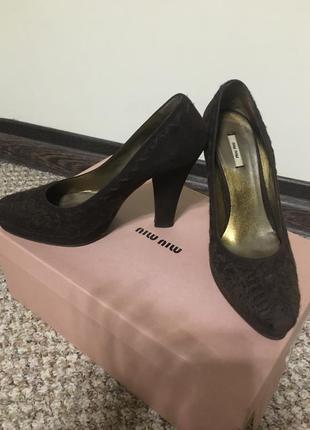 Супер модные туфли miu