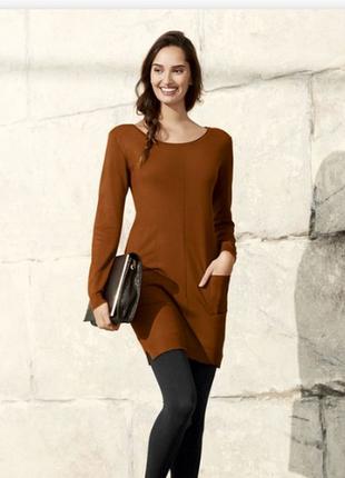 Крутое платье свитер esmara