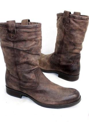 Ботинки 45 р minelli кожа оригинал зима