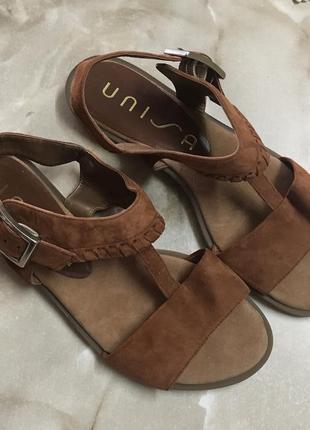 Босоножки сандалии 💯% замша размер 36