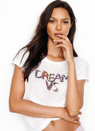 Victoria's secret футболка майка pink виктория сикрет victoria secret