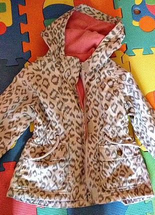 Парка куртка на девочку демисезонная