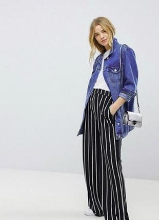 Невероятная длинная джинсовая куртка asos