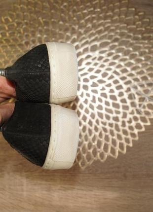 (36/23,5см) ab donkers! кожа/нубук! стильные фирменные мокасины, слипоны2 фото