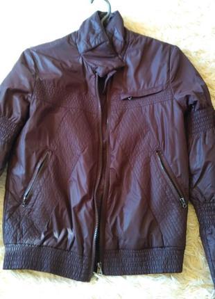Куртка демисизонная осень плащевка mavi