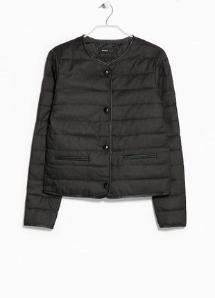 Стеганная куртка mango #дутая куртка mango #пуховик #весенняя куртка #осенняя куртка #zara