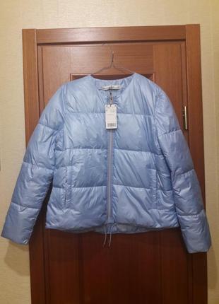 Стильная демисезонная куртка mango