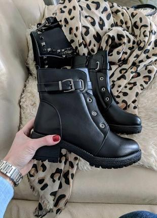 Супер цена! стильные ботиночки на зиму 36-41