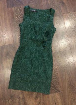 Стильное котоновое платье футляр от итальянского бренда rinascimento