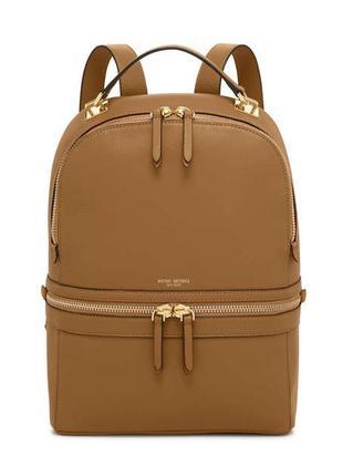Женский кожаный фирменный рюкзак henri bendel
