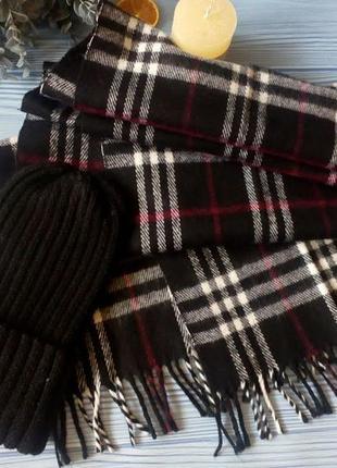 Кашемировый шарф шарф из кашемира 175*32см
