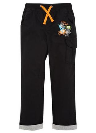 Новые брюки на хлопковой подкладке р.104 фирмы kiki&koko - полномерные