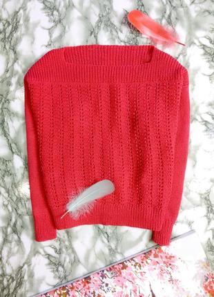 Кофта / свитер вязарый , фуксия
