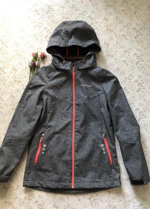 Непромокаемая термо куртка на флисе