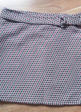 Демисезонная юбка гусиная лапка от f&f 48размер