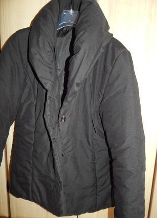 Теплая легкая куртка на укр. 46 размер
