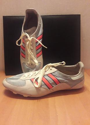 Adidas sprinter vintage москва экси спорт 25 см по стельке верх кожа + текстиль