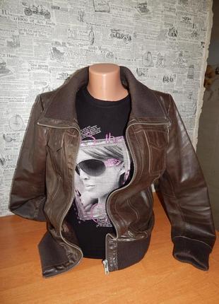 Кожаная куртка (кожа 100%)