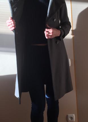 Стильное пальто,zara,размер м