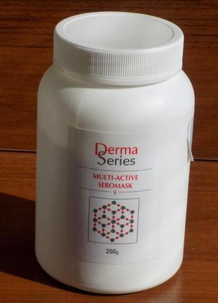 Derma series multi active sebomask мультиактивная себорегулирующая маска распродана france