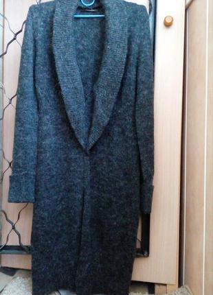 Expresso  cтильный, теплый, уютный шерстяной удлиненный кардиган