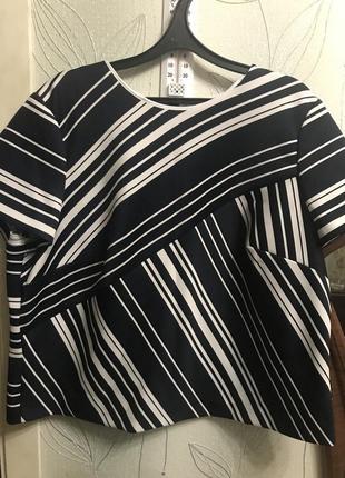 Блуза-футляр стрейч