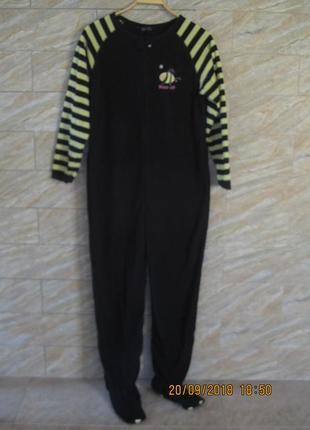 Флисовый комбинезон для сна ,пижама secret possessions ,размер м