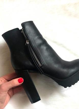 Новые ботильоны ботинки сапоги h&m/ размер 38 - стелька 25,3 см