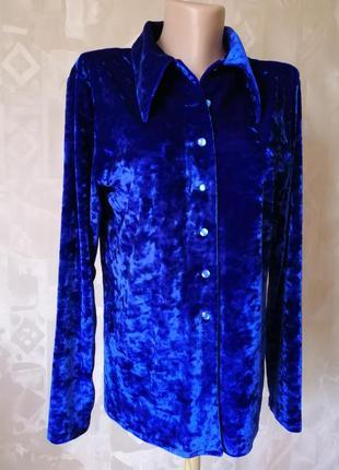 Рубашка из профи бархата hand made