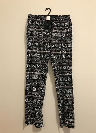 Піжамні штани пижама штани для сна вікторія сікрет victoria's secret