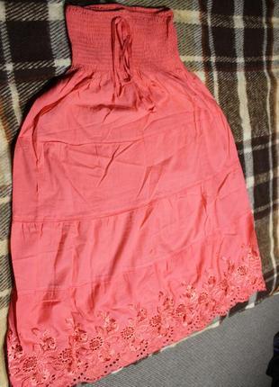 Летняя юбка-макси, длинная юбка, юбка в пол