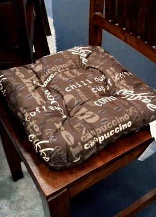 Мягкие подушки-сидушки для стульев, двухсторонние - in home ♥ coffee