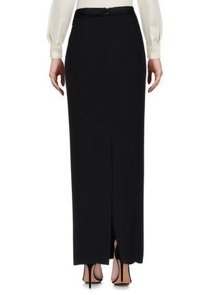 Узкая длинная черная плотная юбка/ s.