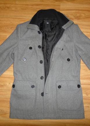 Полушерстяное мужское пальто р.48 (м), we германия отличное состояние