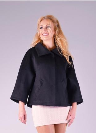 Автоледи пальто короткое жакет блейзер укороченный пиджак
