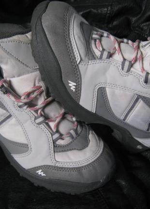 Фирменные ботинки quechua, оригинал!