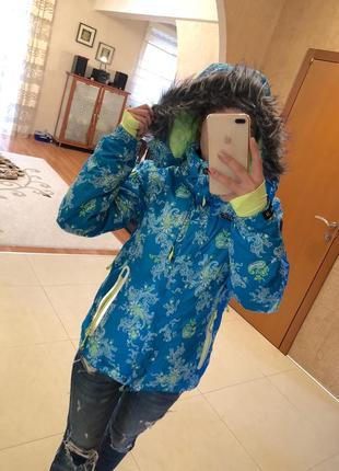 Лыжная куртка ice peak термо