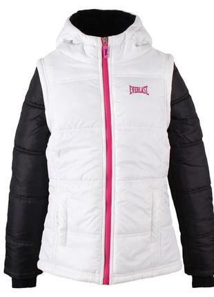 Демисезонная куртка everlast на девочку 11-12 лет