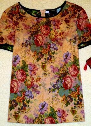 Потрясающая блуза в технике гобелен