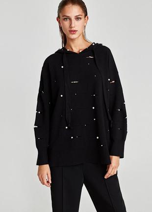 Кофта худи свитер свитшот zara