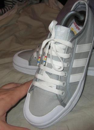 Кроссовки кеды adidas оригинал размер 38 по стельке 25 см без дефектов