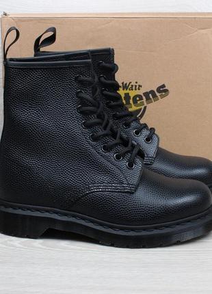 466c9bb0fdad Кожаные ботинки dr.martens 1460 pebble black noir оригинал, размер 381 ...