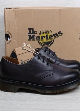 Кожаные туфли dr.martens 1461 оригинал, размер 36 (charcoal)