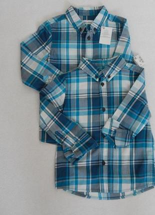 Рубашки котоновые 5, 6 лет