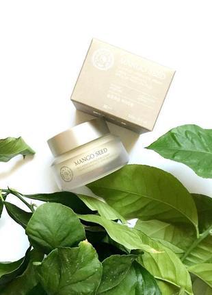 Корейська косметика, крем для шкіри навколо очей mango seed silk moisturizing eye cream