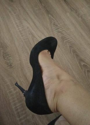 Туфли лазерная кожа