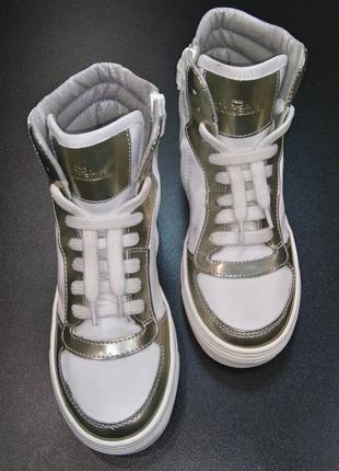 Хайтопы, сникерсы, ботинки производства итальянской компании colpatuа, р. 31 (20,5 см.)