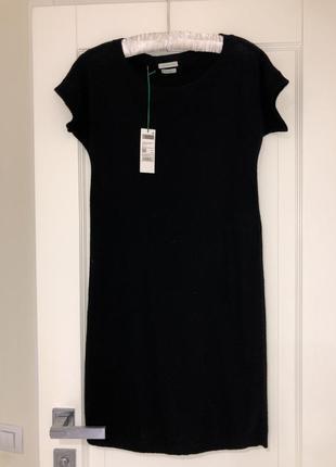 Платье -туника benetton 100% шерсть
