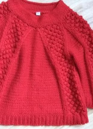 Шикарный  теплый свитер!