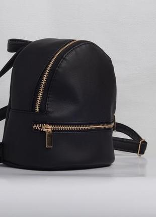 39e1f373d53f Маленький женский чёрный рюкзак для прогулок Sambag, цена - 340 грн ...
